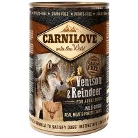 Boites chien CARNILOVE Adult Venison & Reindeer