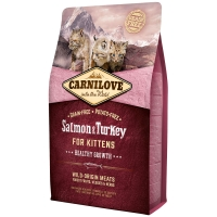 Croquettes chat CARNILOVE Kittens Healthy Growth Salmon & Turkey