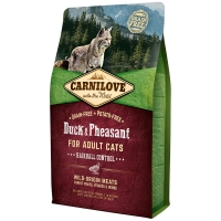 Croquettes chat CARNILOVE Adult Hairball Control Duck & Pheasant