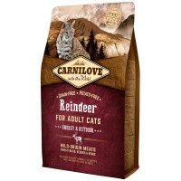 Croquettes chat CARNILOVE Adult Energy & Outdoor Reindeer