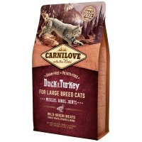 Croquettes chat CARNILOVE Large Breed Muscles, Bones, Joints Duck & Turkey