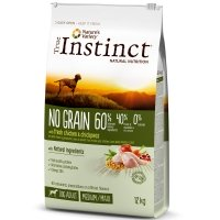 Croquettes chien True Instinct No Grain Medium Maxi Adult Chicken