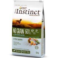 Croquettes chien True Instinct No Grain Medium Maxi Adult Salmon