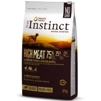 Croquettes chien True Instinct High Meat Medium Maxi Adult Chicken