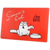 Set de table Simon's Cat rouge