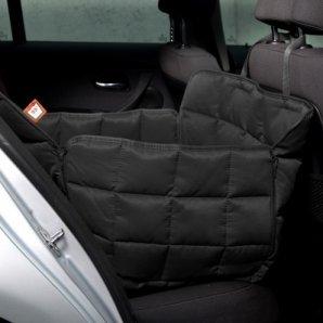 Couverture de protection banquette arrière 1 siège Doctor Bark noir