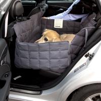 Couverture de protection banquette arrière 2 sièges Doctor Bark gris