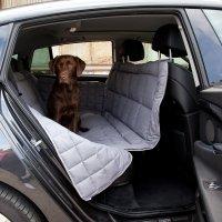Couverture de protection banquette arrière 3 sièges Doctor Bark gris