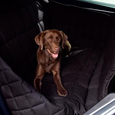 Couverture de protection banquette arrière 3 sièges Doctor Bark noir