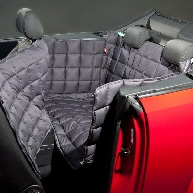Couverture de protection banquette arrière pour voiture 2 portes Doctor Bark gris