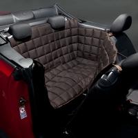 Couverture de protection banquette arrière pour voiture 2 portes Doctor Bark marron