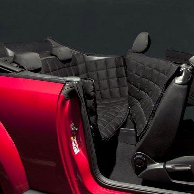 Couverture de protection banquette arrière pour voiture 2 portes Doctor Bark noir