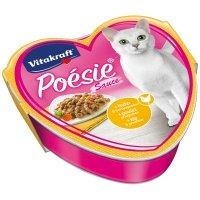 Barquettes chat Vitakraft Poésie en sauce au poulet et légumes