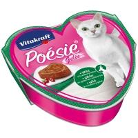 Barquettes chat Vitakraft Poésie en gelée au gibier et cranberries