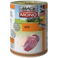 Boites chien MAC'S MONO Sensitive Canard
