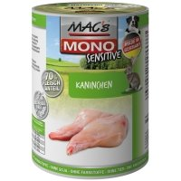 Boites chien MAC'S MONO Sensitive Lapin