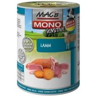 Boites chien MAC'S MONO Sensitive Agneau