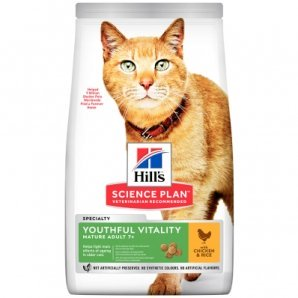 Hill's Science Plan Youthful Vitality Feline Mature Adult