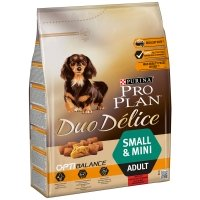 PRO PLAN Duo Délice Small & Mini Adult Boeuf