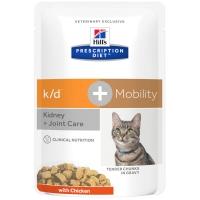 Sachets Repas Hill's Prescription Diet Feline k/d + Mobility
