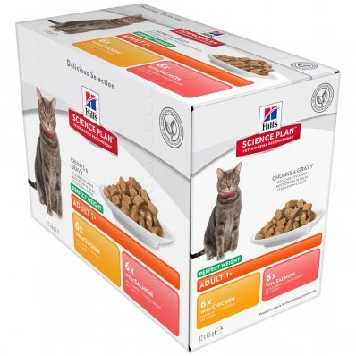 Sachets Repas Hill's Science Plan Feline Perfect Weight Adult