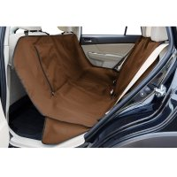 Couverture de protection pour siège de voiture Ruffwear Dirtbag marron
