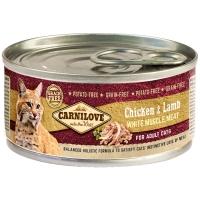 Boites chat CARNILOVE Adult Chicken & Lamb