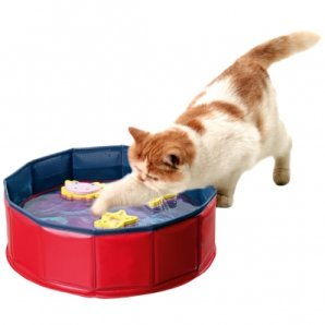 Piscine pour chat Kitty Lake