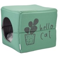 Maison pour chat Beeztees 2 en 1 vert
