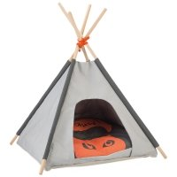 Tipi pour chat Beeztees gris