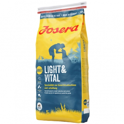 Croquettes chien Josera Light & Vital