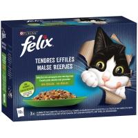 Sachets repas Felix Tendres Efillés en Gelée