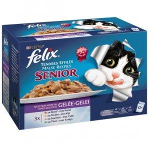 Sachets repas Felix Tendres Efillés Senior