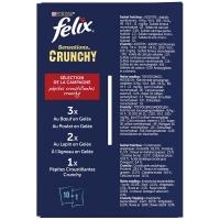 Sachets repas Felix Sensations Crunchy