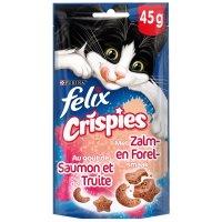 Friandises pour chat Felix Crispies au saumon et à la truite