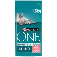 Croquettes chat Purina One Adult Saumon
