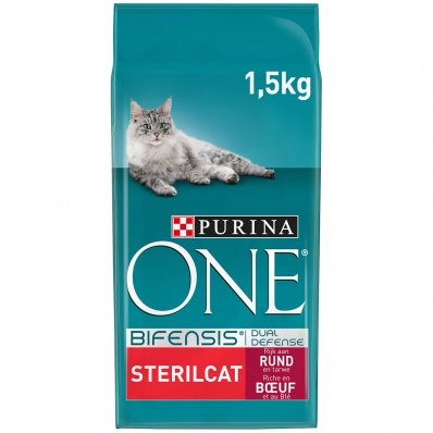 Croquettes chat Purina One Sterilcat Boeuf