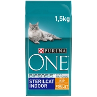 Croquettes chat Purina One Sterilcat Indoor Poulet