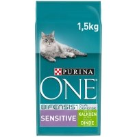 Croquettes chat Purina One Sensitive Dinde