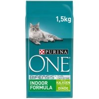 Croquettes chat Purina One Indoor Dinde