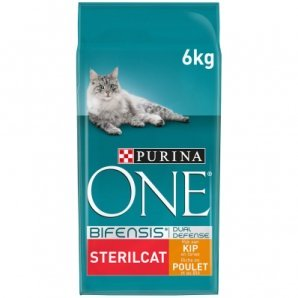 Croquettes chat Purina One Sterilcat Poulet