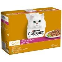 Boites chat Gourmet Gold Double Délice
