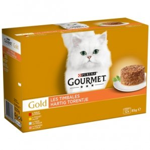 Boites chat Gourmet Gold Les Timbales