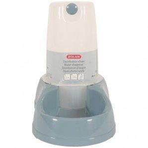 Distributeur d'eau antidérapant bleu acier