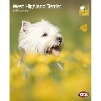Calendrier 2021 West Highland White Terrier