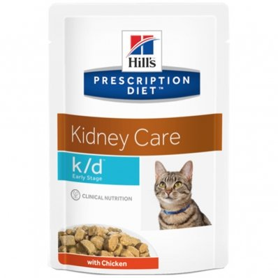 Sachets Repas Hill's Prescription Diet Feline k/d Early Stage