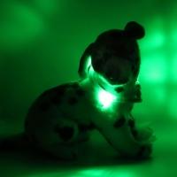Collier lumineux pour chien LEUCHTIE Mini vert foncé