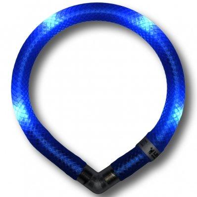Collier lumineux pour chien LEUCHTIE Mini bleu