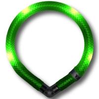 Collier lumineux pour chien LEUCHTIE Mini vert fluo