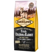 Croquettes chien CARNILOVE Adult Fresh Chicken & Rabbit